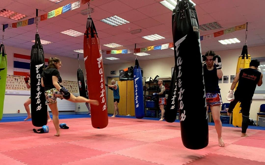 thai kickboxing during covid cornwall