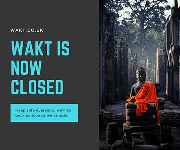 wakt closed due to corona virus