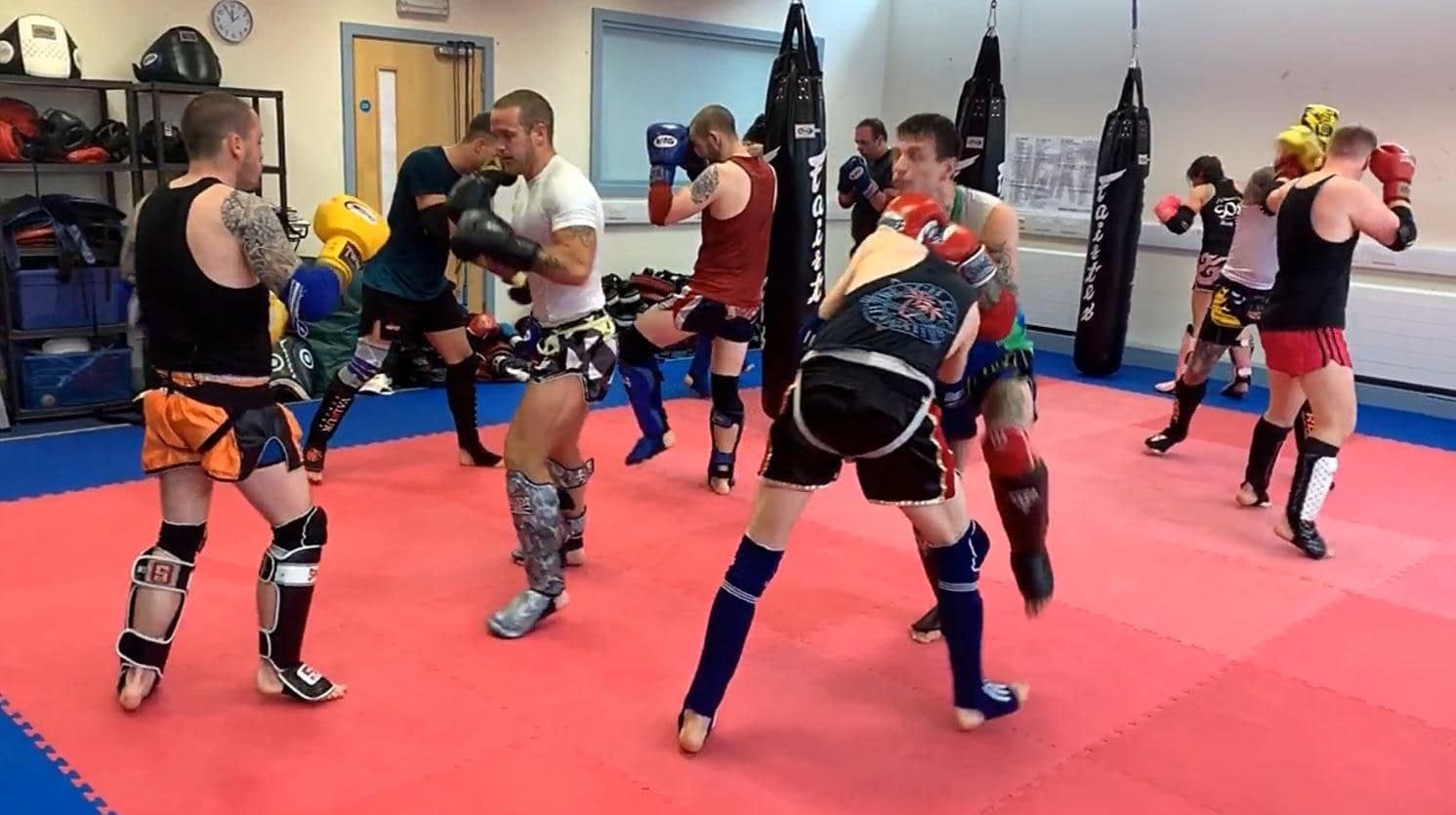 Thai Boxing Sparring Cornwall UK