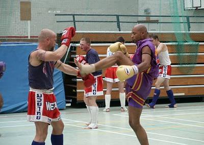 WAKT Muay Thai Sparring