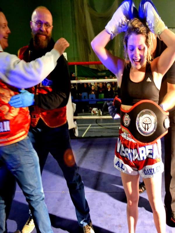 Female Thai Boxing Champion WAKT Muay Thai