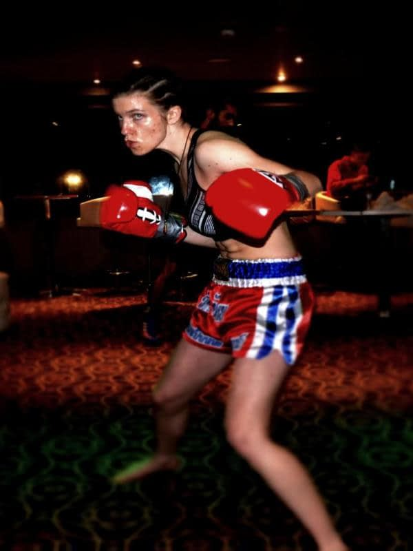 Female Fighter Camborne Kickboxing