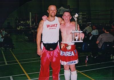 Mr Al & Gaz Schofield, early 2000's