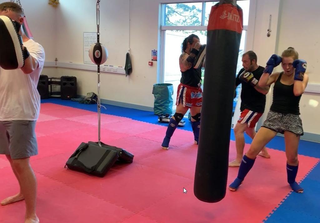 thai boxing fitness class camborne