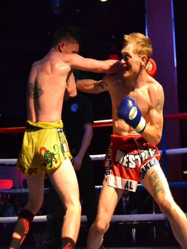 WAKT Thai Boxing Fighter