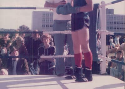 Al boxing Harlow, Essex, aged 14yrs