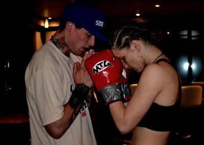 female boxer cornwall camborne