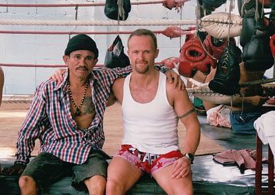 Mr Al and Kru Juan Bangkok 2000